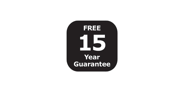 15 years guarantee