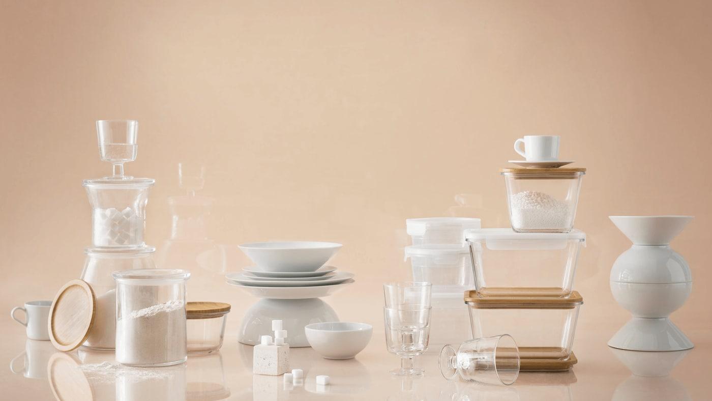 IKEA 365+ glass storage to save on food wastage