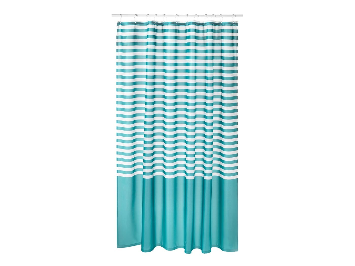 Shower curtains.