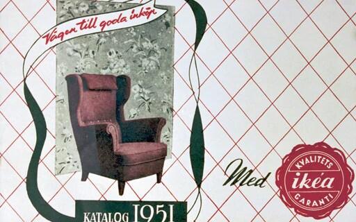 1951年に初のIKEAカタログが発行されました。