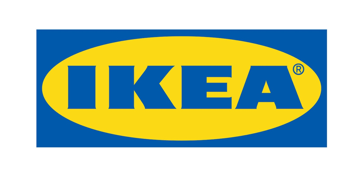 Blue and yellow IKEA logo linking to IKEA U.S. 2021 Catalog Update article.