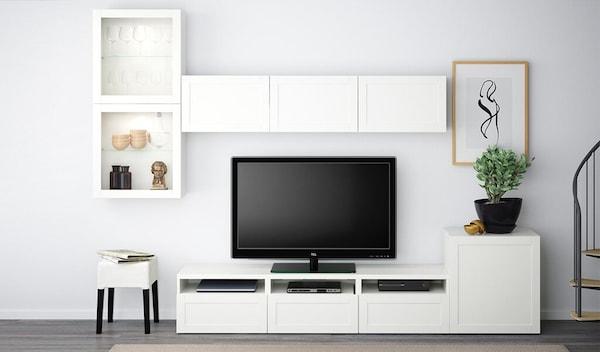 Soggiorno salotto ikea for Mobili per soggiorno