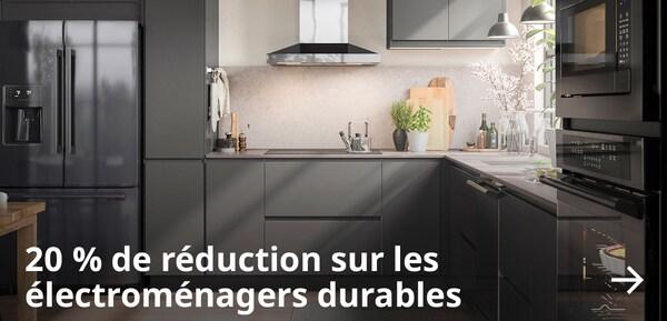 20 % de réduction* sur les électroménagers durables.