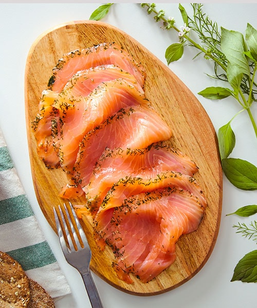 20% off* all SJÖRAPPORT salmon products from October 1 to 31, 2021.