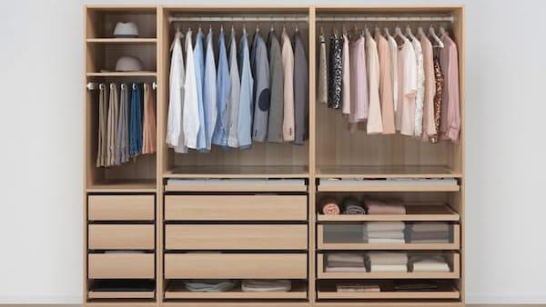 ikea garderob kampanj
