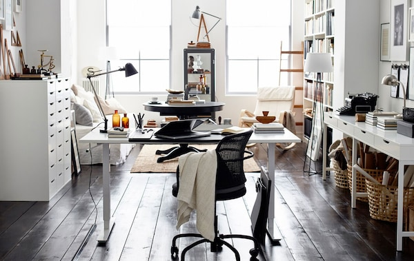 home office style tips ikea