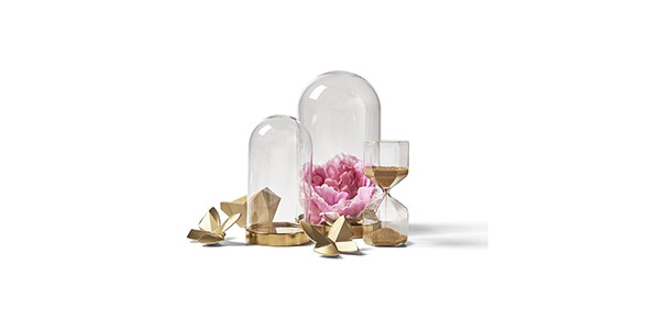 Cloche en verre décoration