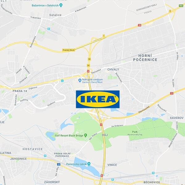 IKEA Praha - Černý Most