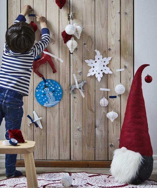 adornos navideños caseros IKEA