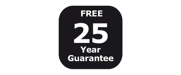 25-year guarantee