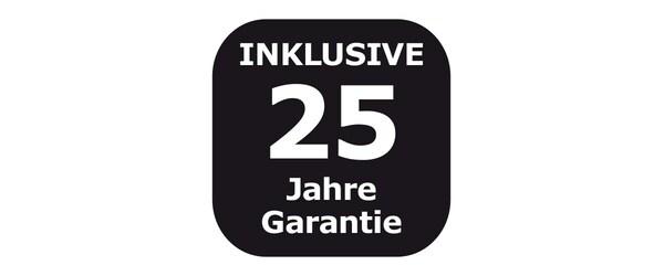 25-year guarantee