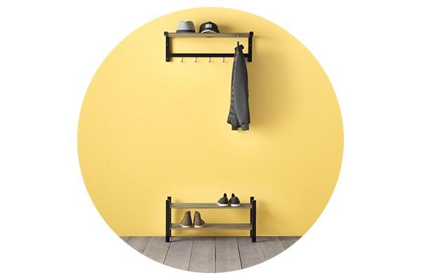 Серия мебели ЧУСИГ для хранения одежды и обуви в прихожей