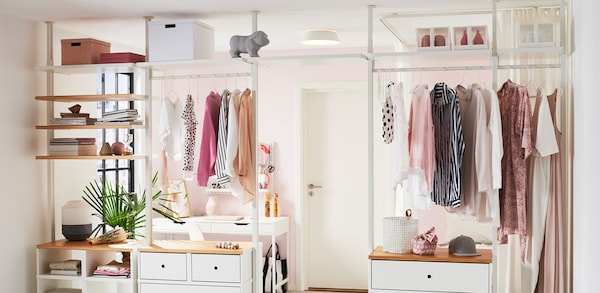 Link to open clothes storage systems page