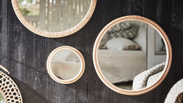 Tips om hur du inreder med speglar.