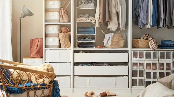 SKUBB contenitore per vestiti, bianco - IKEA