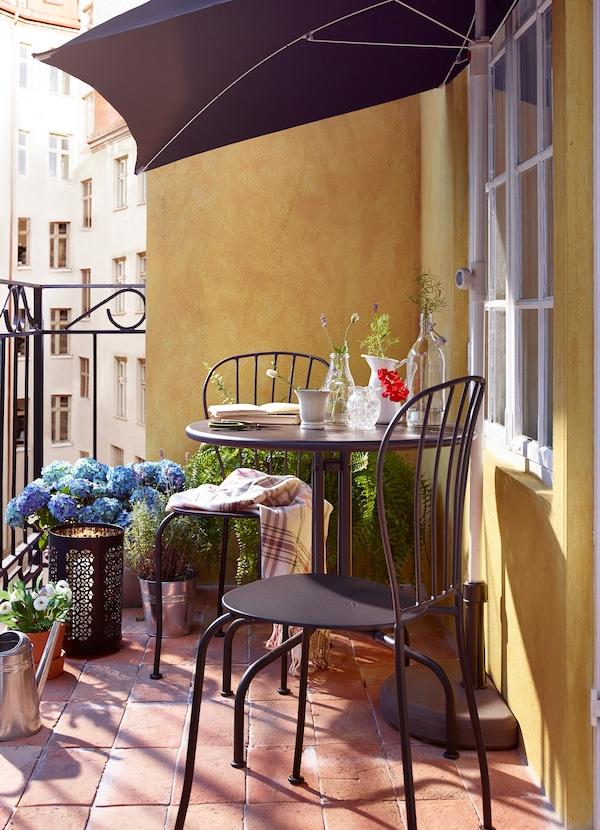 Balkonmöbel Deko Für Kleinen Balkon Ikea