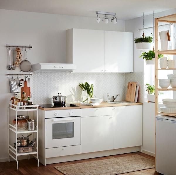 Los Cuatro Tipos De Cocinas Blancas Que Triunfan Ikea