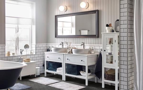 Badezimmer für 2 Personen einrichten - IKEA
