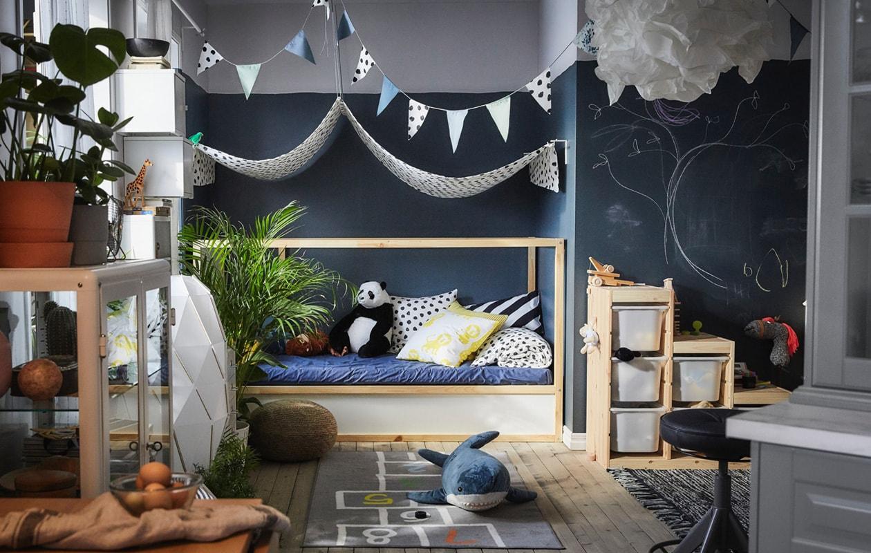 IKEA KURA children's beds
