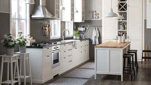 Countryside kitchen in the city