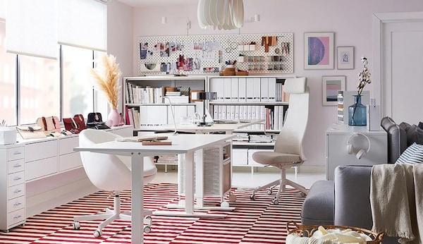 6 Creative Small Home Office Ideas: Bureaux Et Bureaux Ordinateur