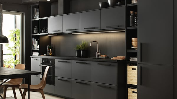 Cucina componibile KUNGSBACKA antracite - IKEA