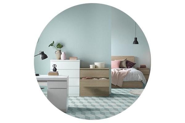 Серия мебели МАЛЬМ для спальни, прихожей, рабочего кабинета