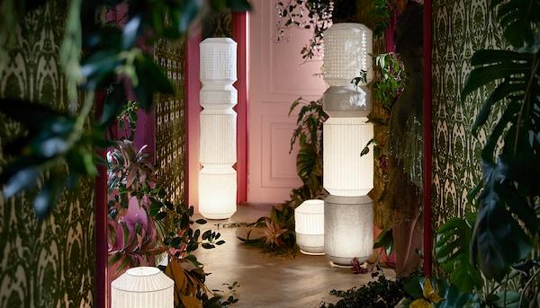 MAJORNA lampadaire, H140cm