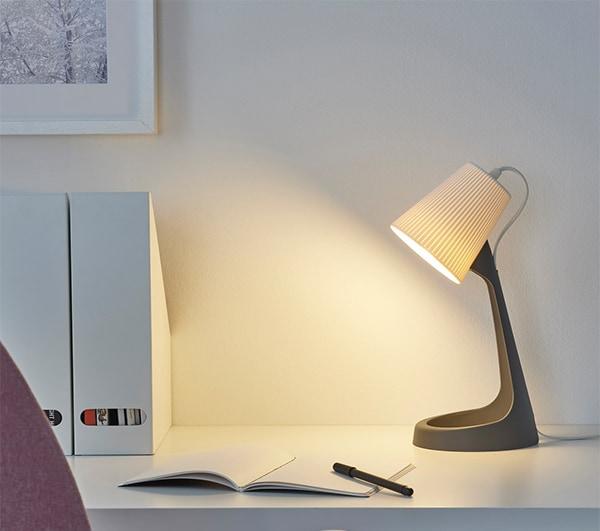 Освещение лампа рабочая серая