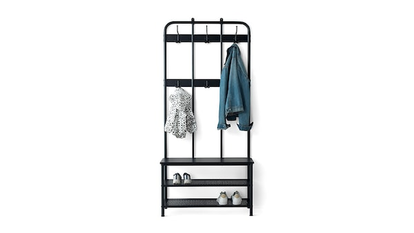 Clothes rack & shoe stands