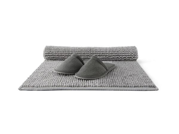 Bath mats.