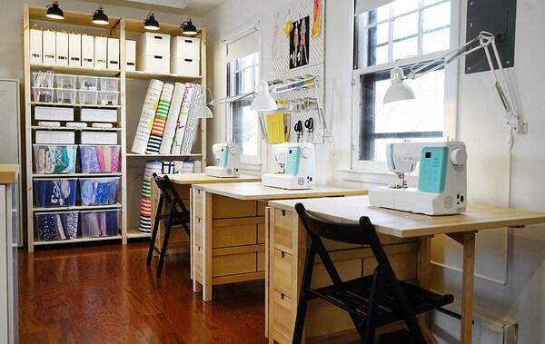 The Sewing Studio Home Tour Squad Ikea Ikea