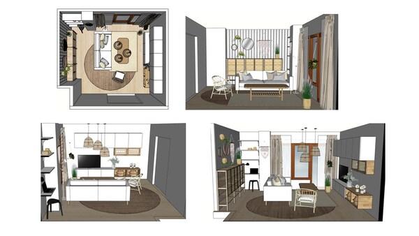 3D suunnitelma - Sisustussuunnittelupalvelu - IKEA