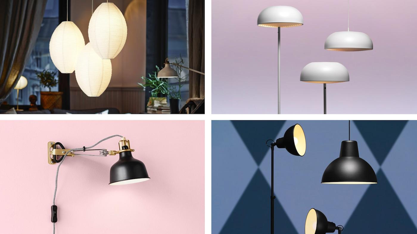 lampeudvalg Belysning alle rumSe store til det IKEA her lcFJTK15u3