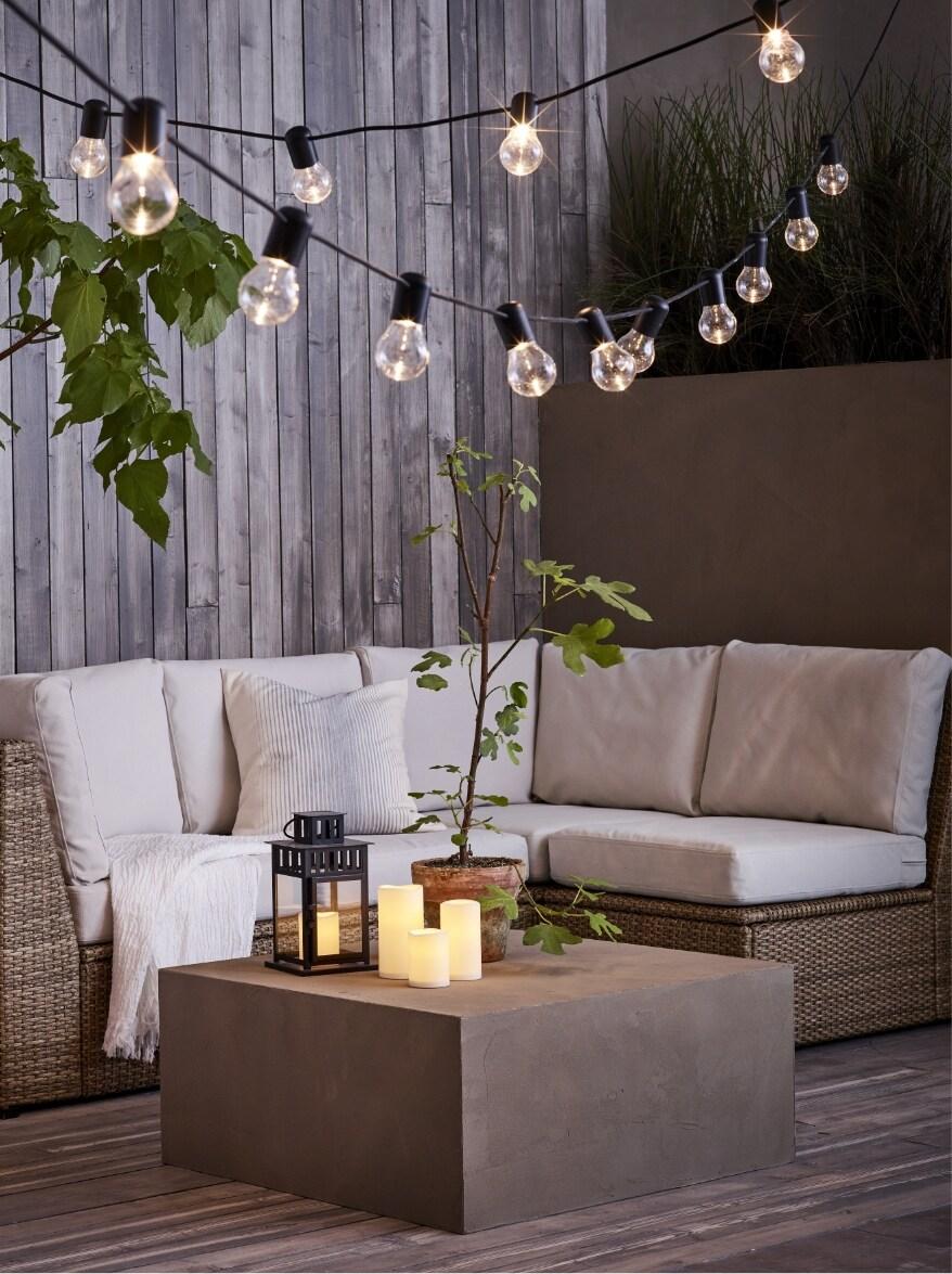 sofas de terraza y jardin