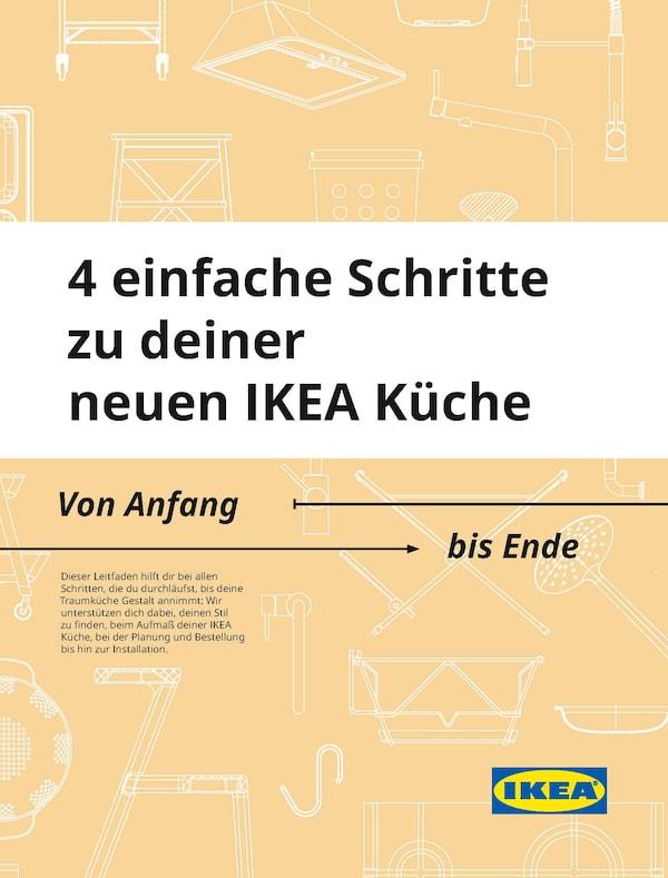 4 einfache Schritte zu deiner IKEA Küche