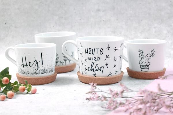 Fabulous DIY Ideen: Tassen bemalen & beschriften - IKEA OE15