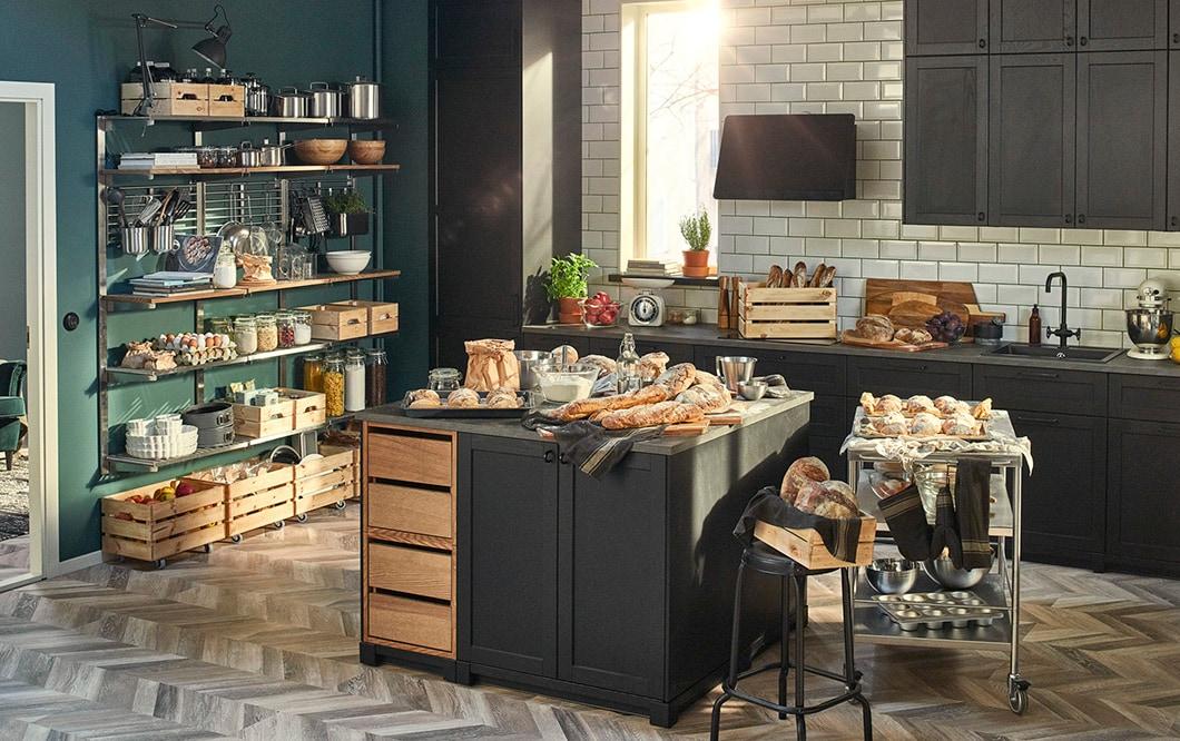 Miksi teimme vain osittaisen keittiöremontin?