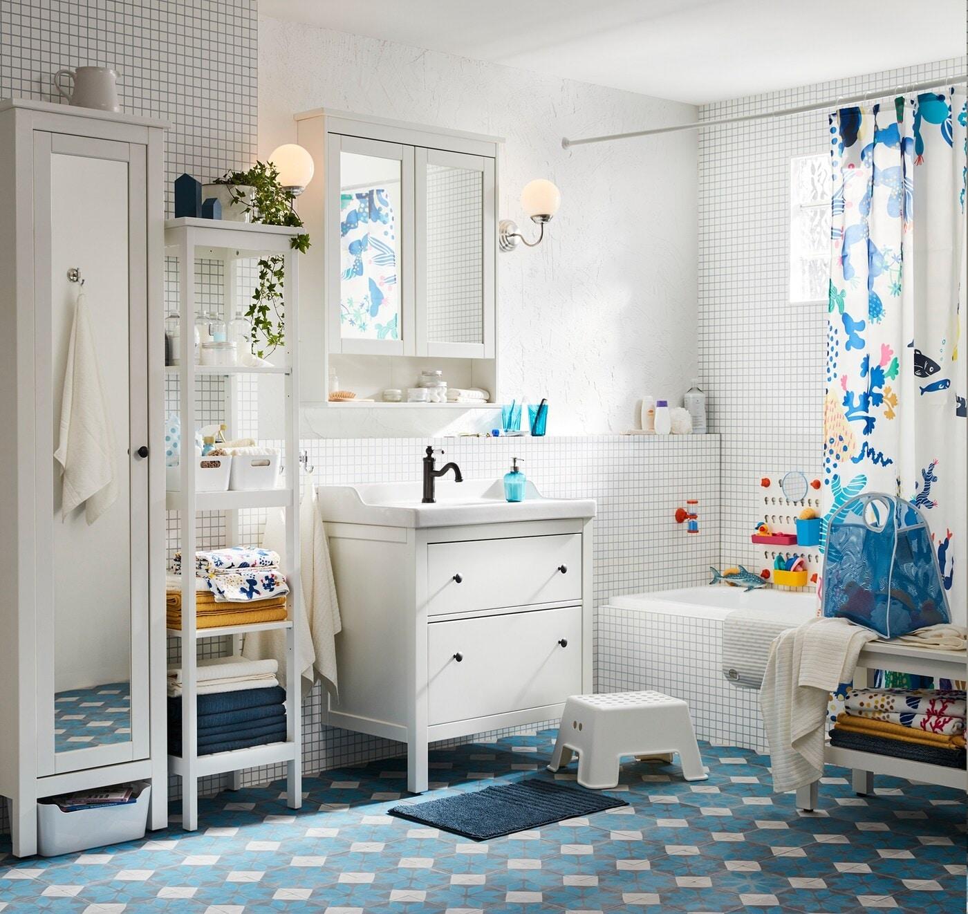 Badezimmer verspielt gestalten & dekorieren   IKEA Deutschland
