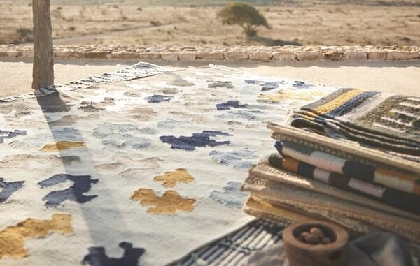 Handgemaakte vloerkleden
