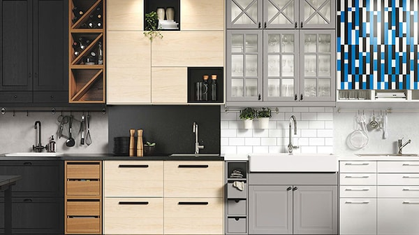 A selection of IKEA Kitchen cabinet doors and drawer fronts