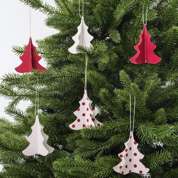 Vánoční stromečky v IKEA