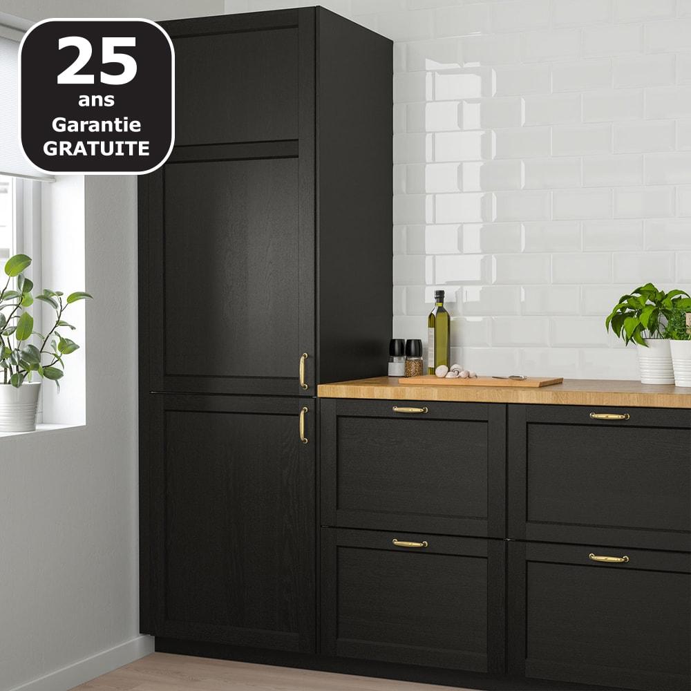 Cuisine Personnalisable LERHYTTAN Noir IKEA