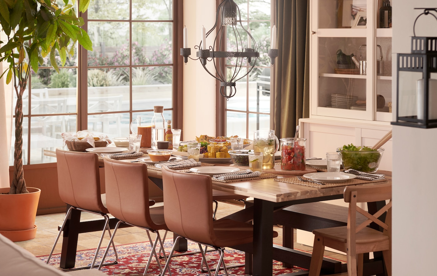 5 basics to set the table for your gatherings at home