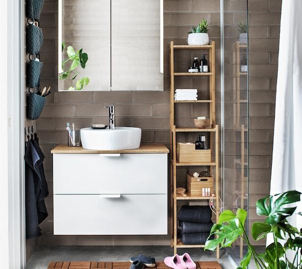 Dein Badezimmer in eine Wohlfühloase verwandeln - IKEA