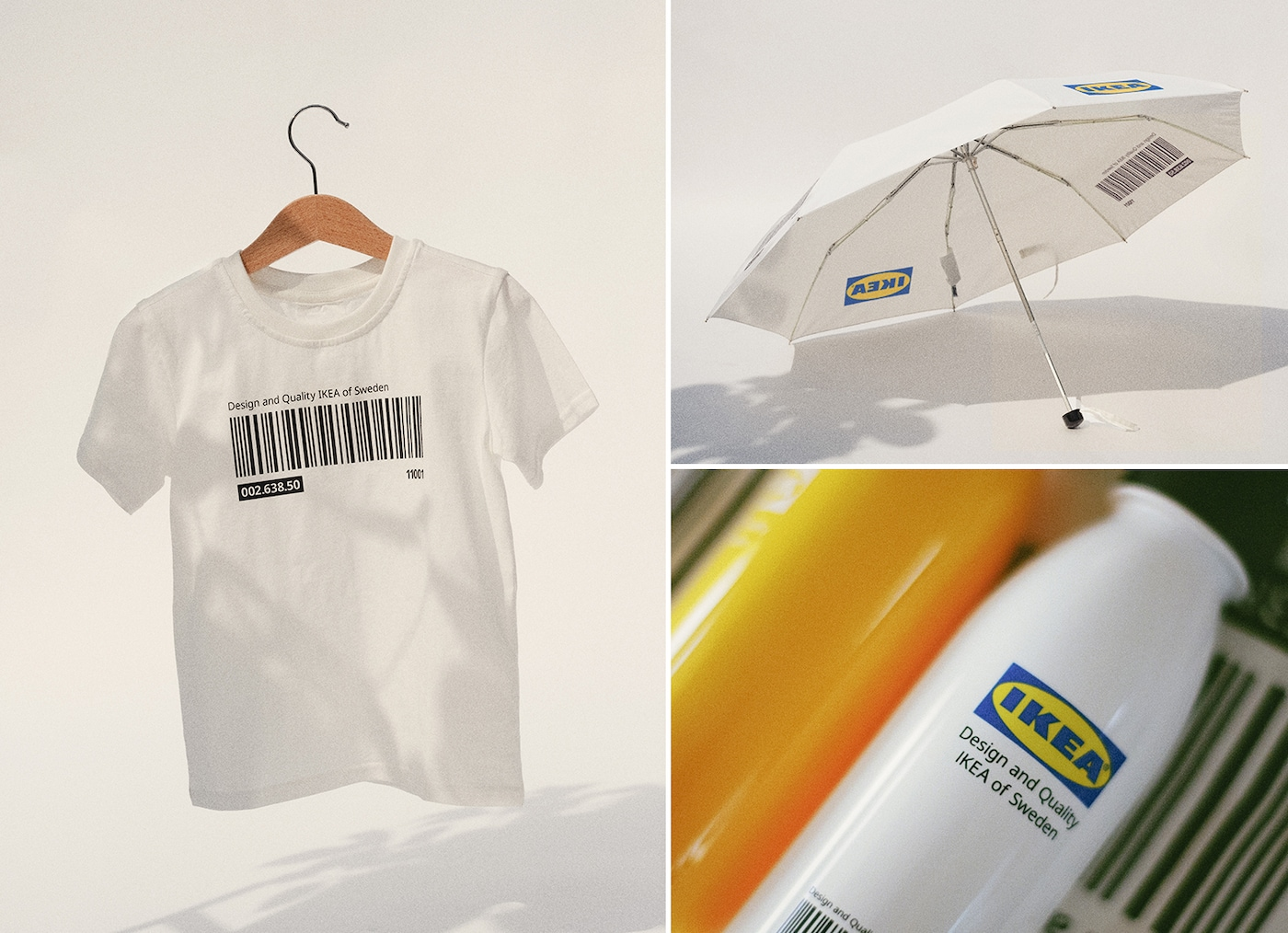 IKEA-branded everything.
