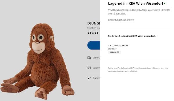 Ikea Warenbestand