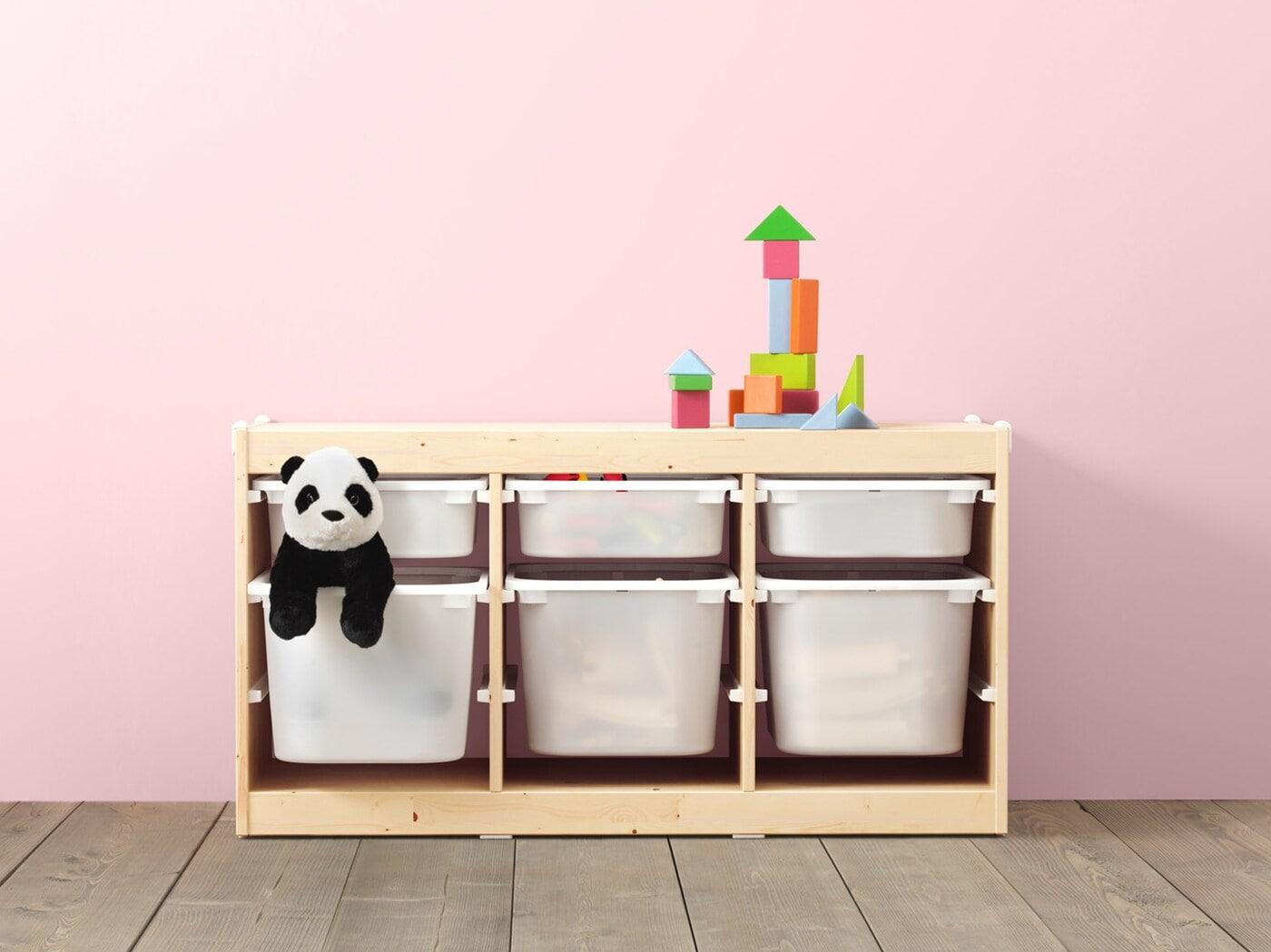 TROFAST toy storage series