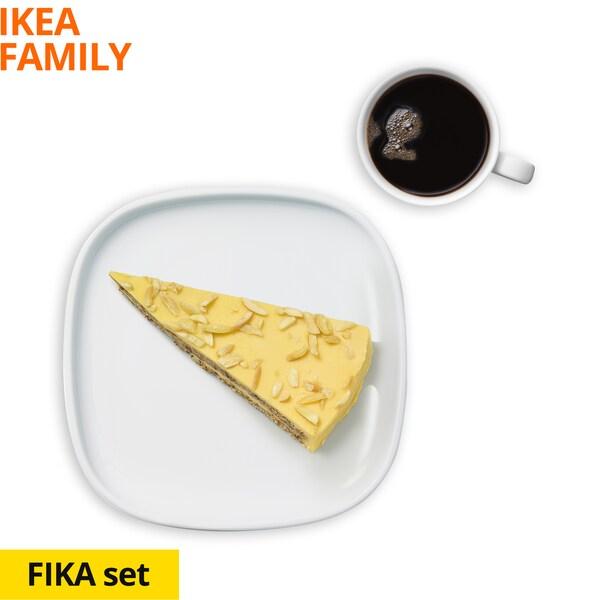 Fika Set Almond Cake and Coffee