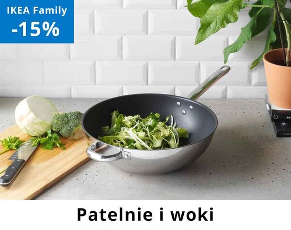 Patelnie i woki